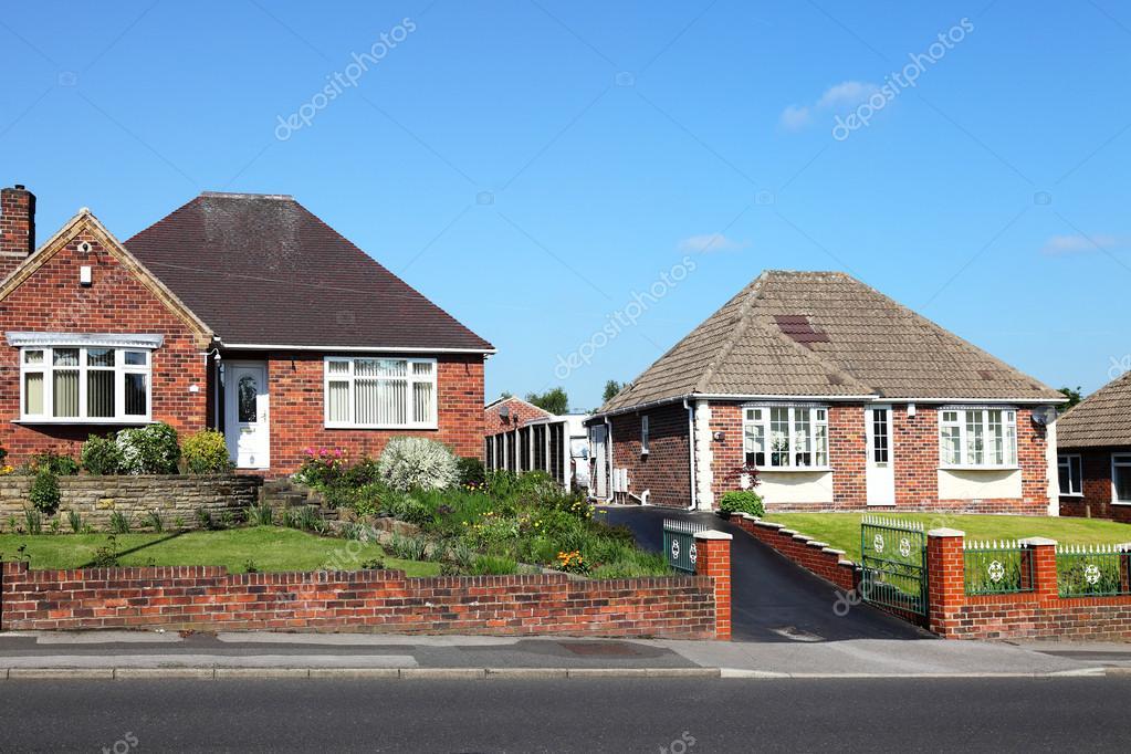 Tipiche case inglesi mattoni rossi foto editoriale stock for Case inglesi foto