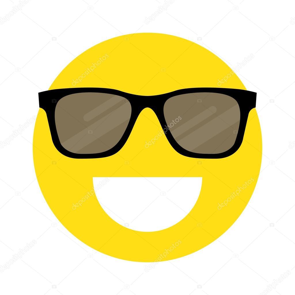 Faccina Con Gli Sorridente Da Sole Occhiali iukPZOX