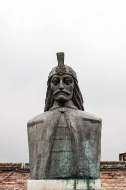 Vlad Tepes bust in Bucharest