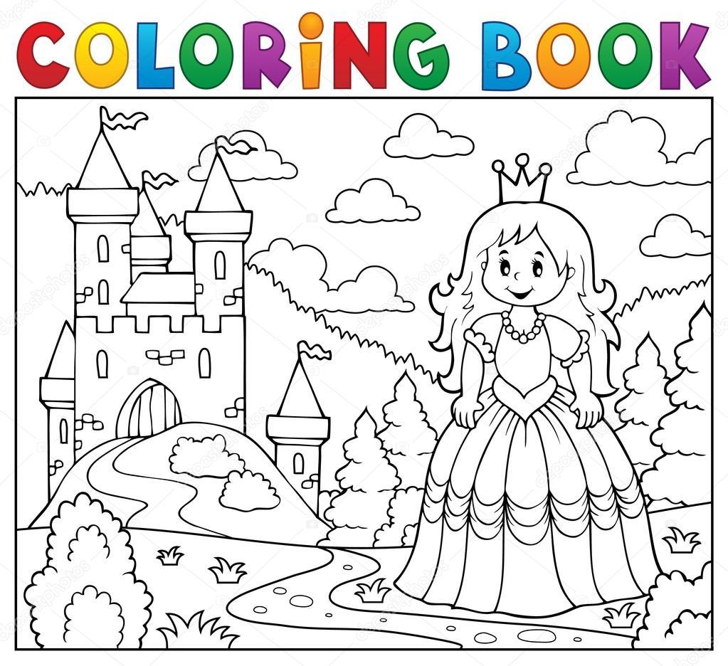 Imágenes: castillos de princesas para dibujar | Princesa libro