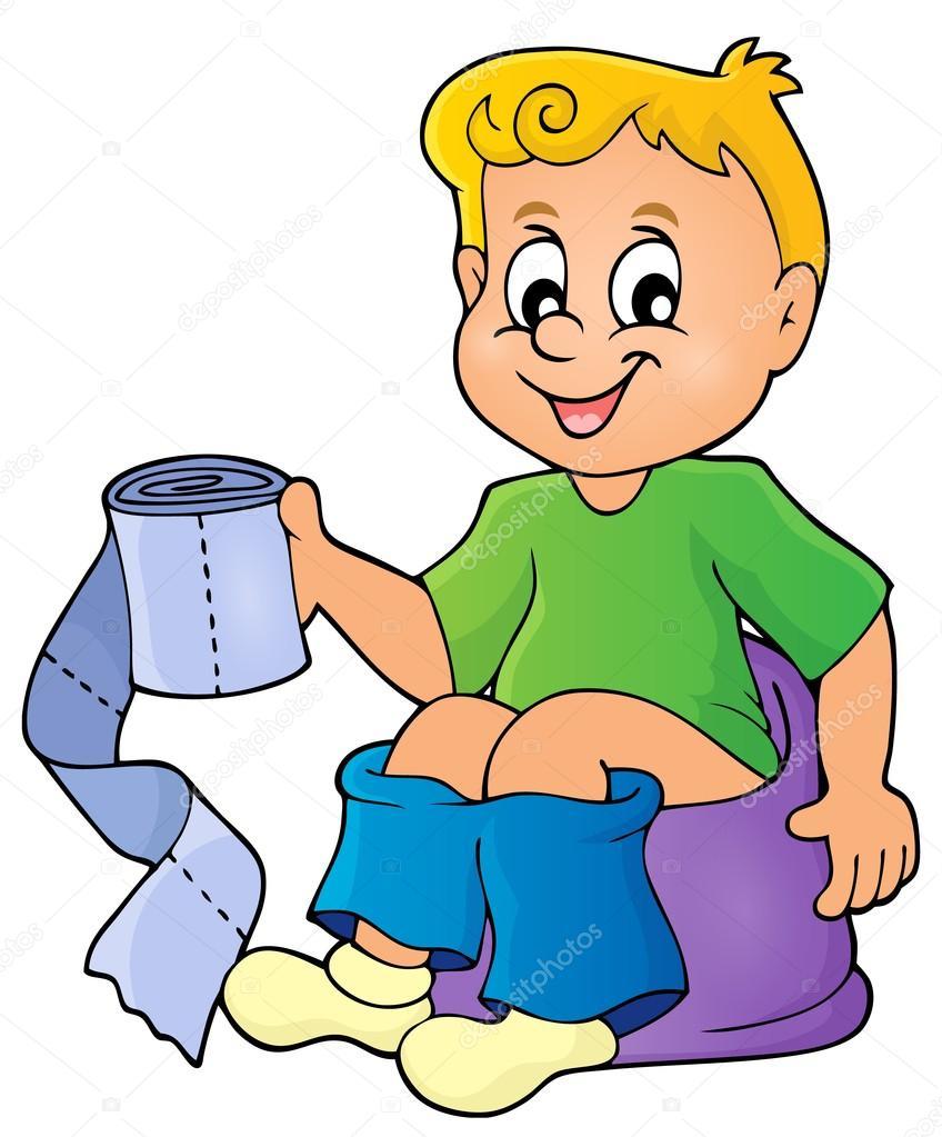 Детские картинки для туалета в саду