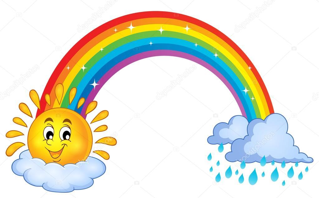 поговорим картинка тучка солнце радуга птичка фотографии или