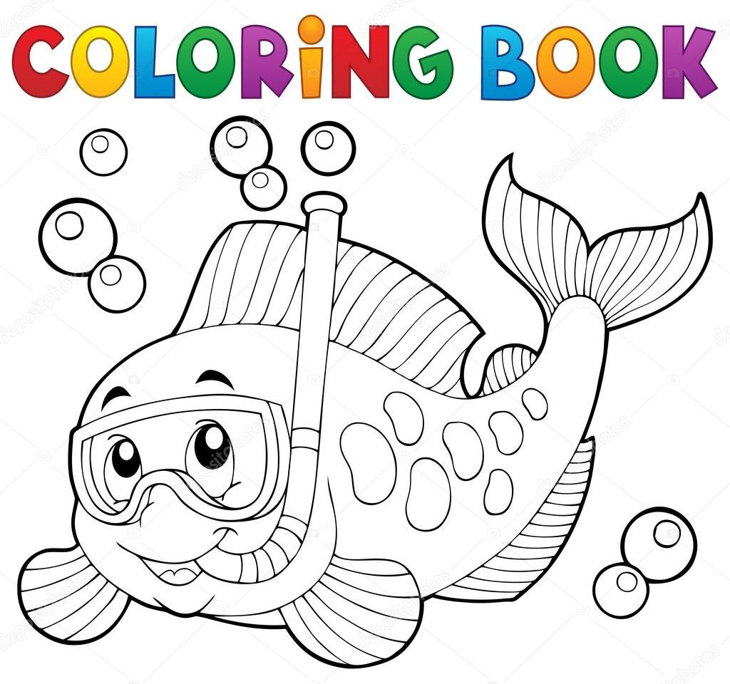 Clairev 107126270 for Immagini da colorare di pesci
