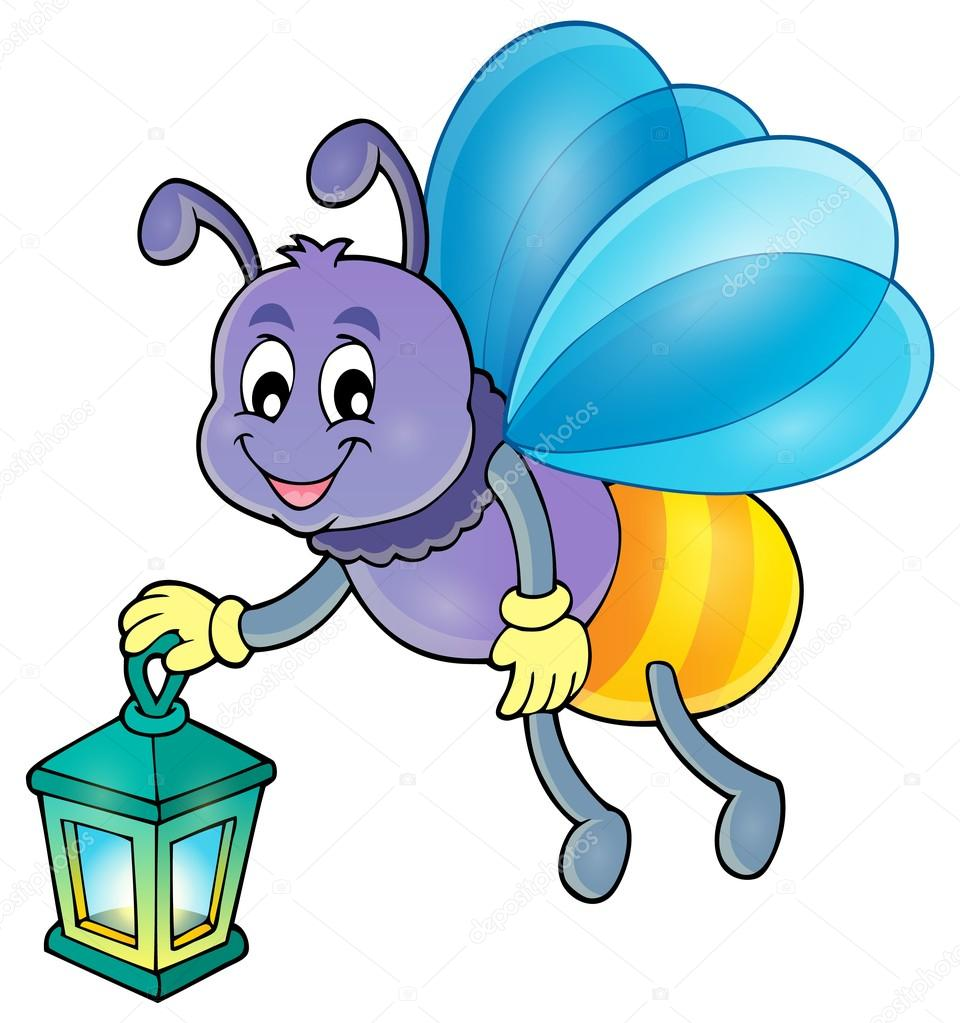 firefly with lantern theme image 1 stock vector clairev 108502360 rh depositphotos com free firefly clip art firefly clipart