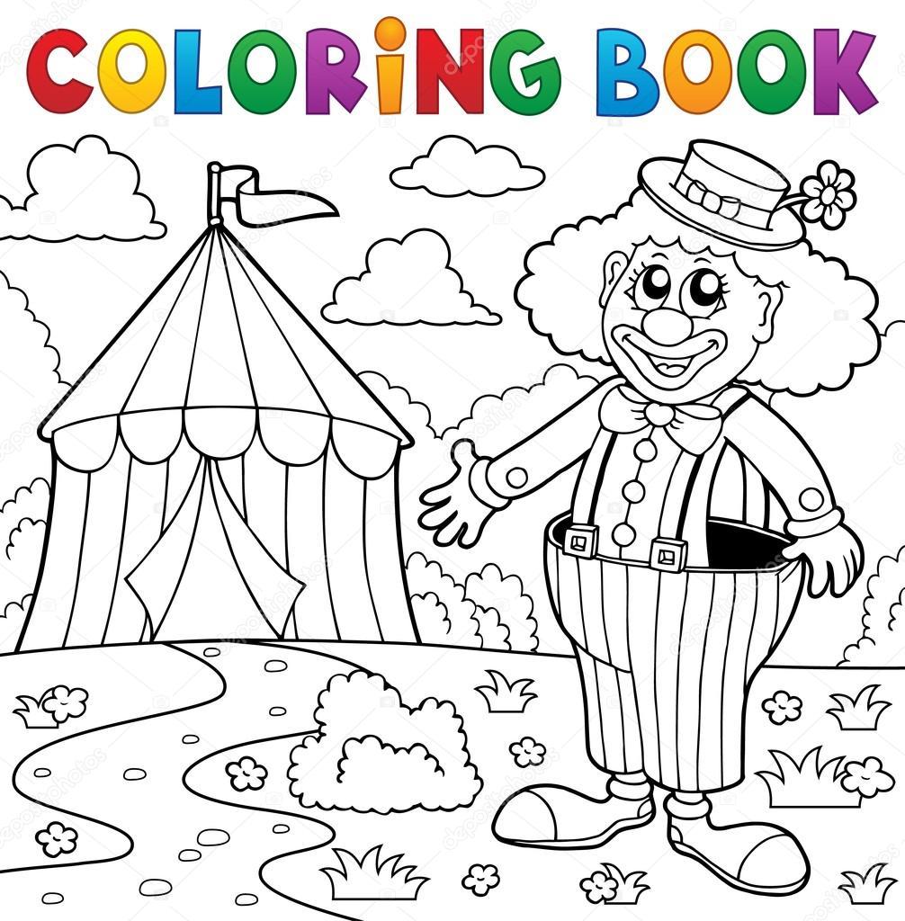 Fresco Tenda Del Circo Disegni Da Colorare Per Bambini Migliori
