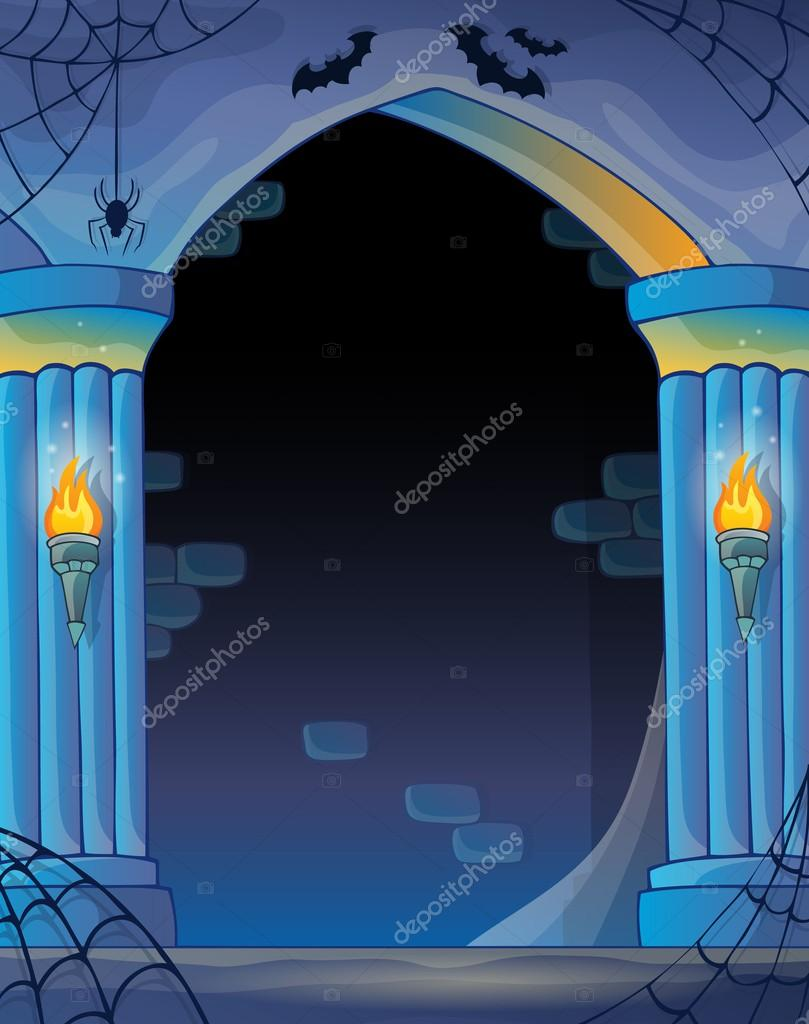 Wall alcove image 2 — Stock Vector © clairev #53963441