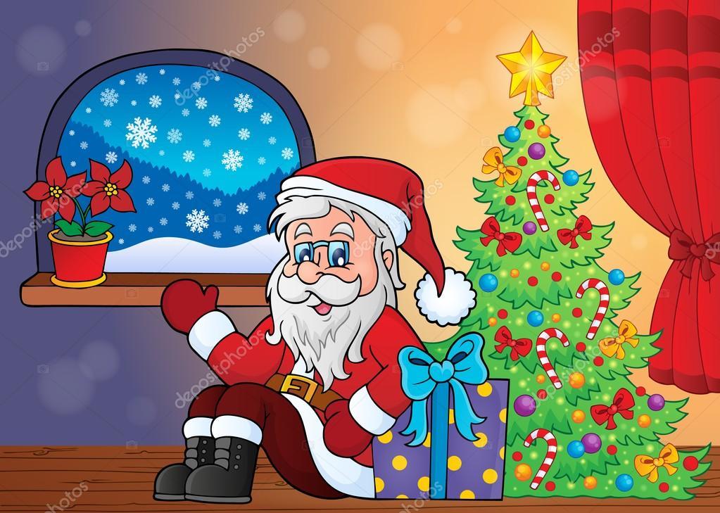 Weihnachten-indoor-Thema 3 — Stockvektor © clairev #85780866