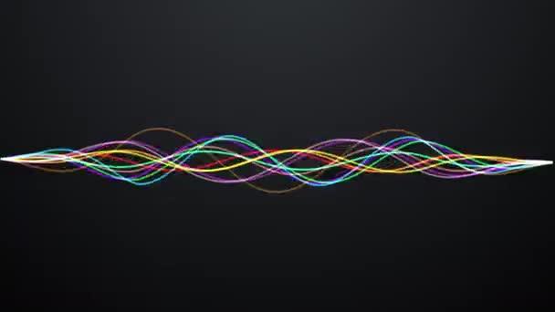 Zářící vlnovky