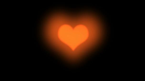 rotes schlagendes Herz