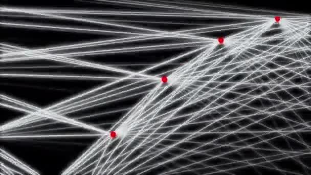 absztrakció összetétele vonalakkal és dotes