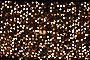 Abstract glowing festive bokeh