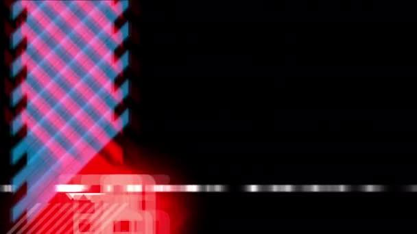 Extrémní pozadí abstraktní digitální