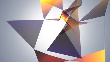 abstraction geometrical composition
