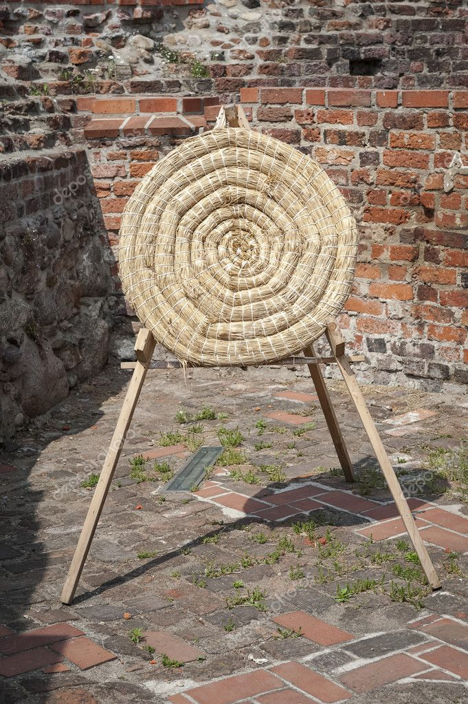 Traditional Archery shield — Stock Photo © rlat28 #111315284