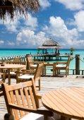 Útulná restaurace v hotelu, Bandos island