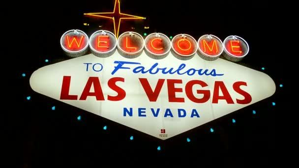 Las Vegas Benvenuto segno, Strip di Las Vegas, Stati Uniti