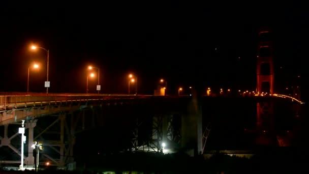 Golden Gate híd éjszakai, San Francisco, Amerikai Egyesült Államok