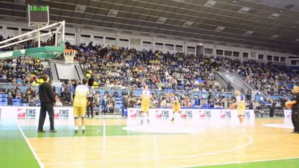 Basketball championship F4 Final in Kiev, Ukraine.