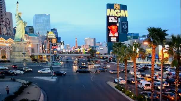 MGM Grand hotel on Las Vegas Strip in Las Vegas, Nevada. New York hotel building, USA.