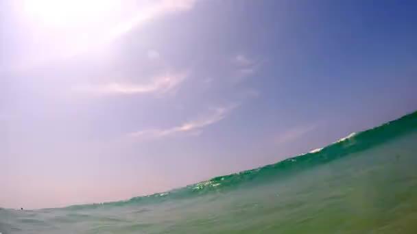 zvlněná vodní oceán