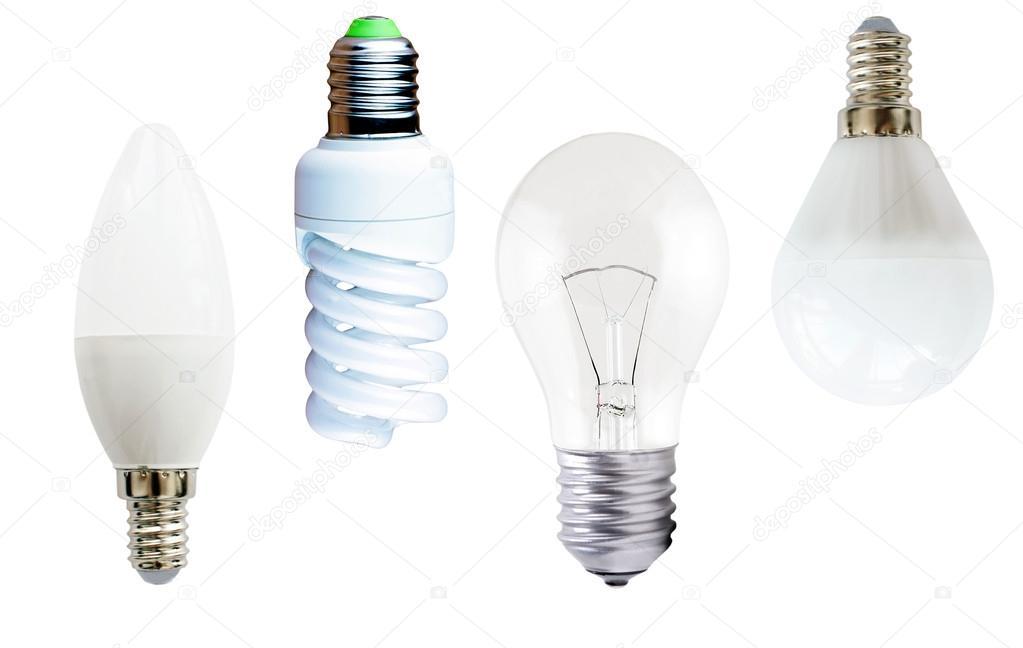 Diversi tipi di lampade u foto stock gorvik
