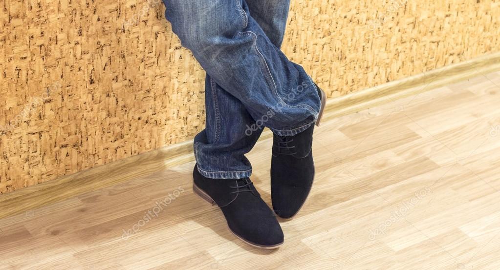 Presentación Gamuza Pantalones Nuevos Hombres Zapatos Y Vaqueros Los Modelos De pwvrqIHpf