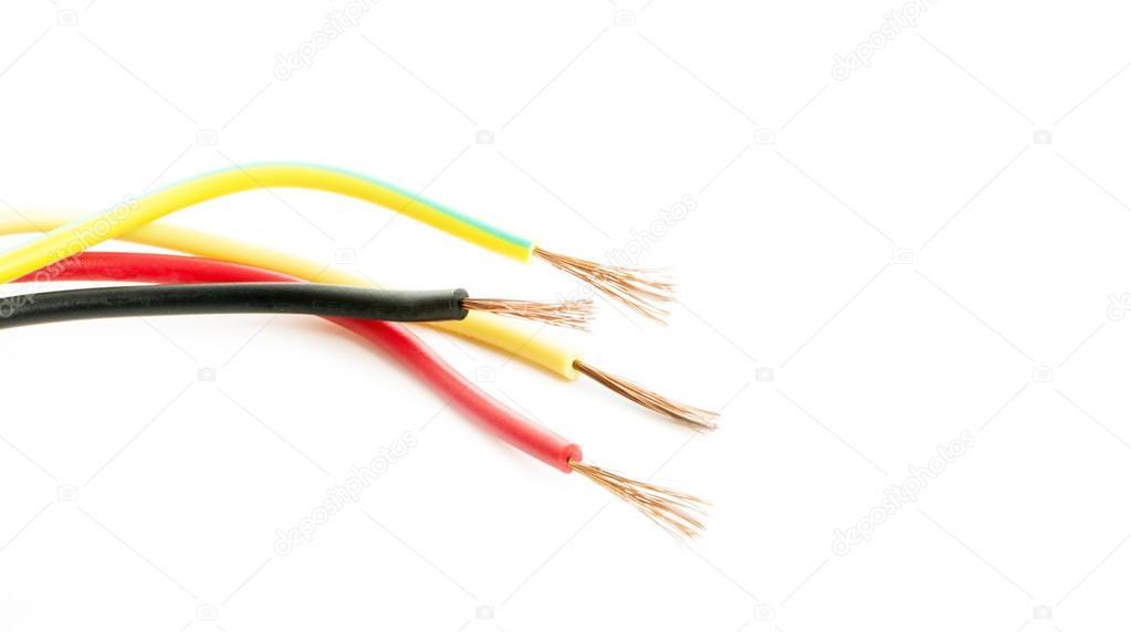 Drähte in verschiedenen Farben — Stockfoto © gorvik #99814142