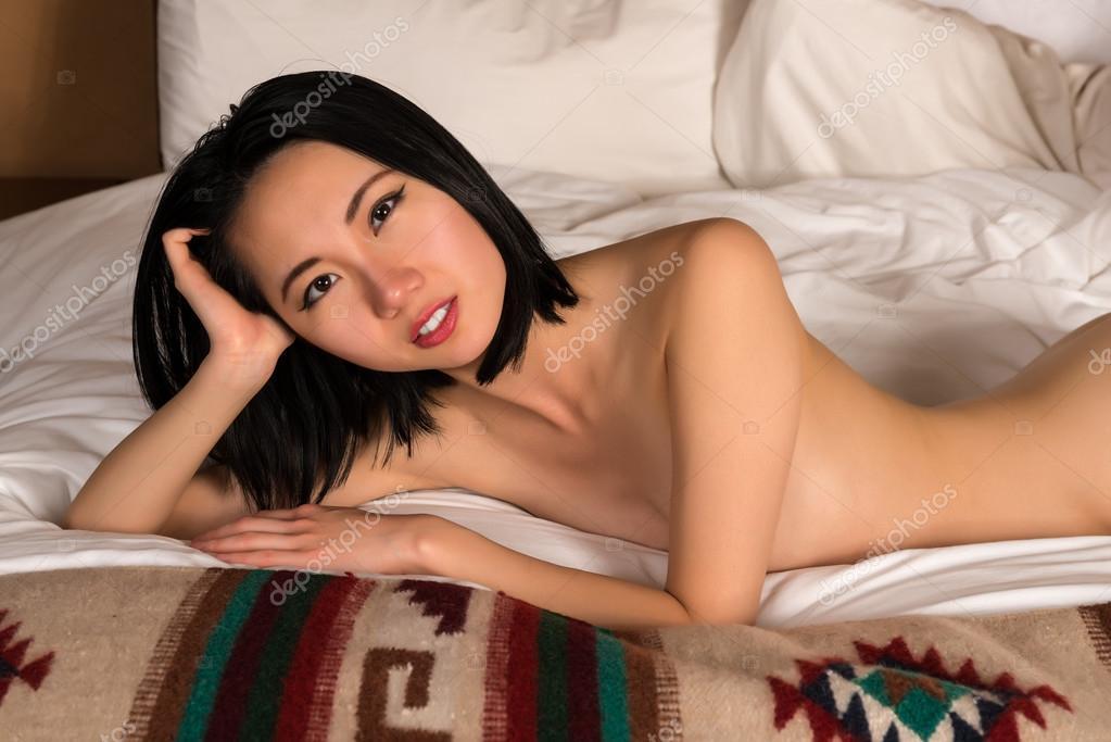 Kinesiska naken modell