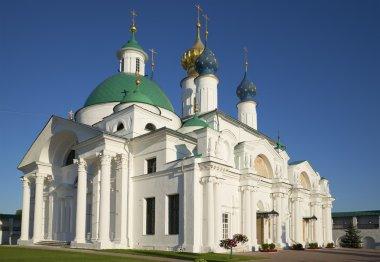 The Church of St. Jacob of Rostov. Spaso-Yakovlevsky monastery of Rostov the Great, Russia