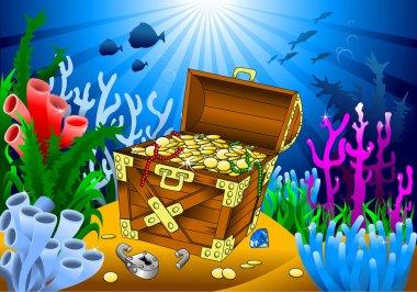 huge treasure chest
