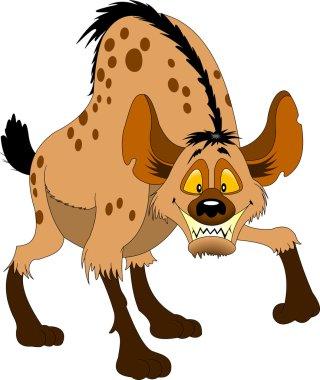 hyena with huge teeth