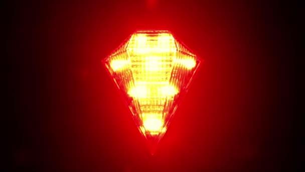 Blikající červená kontrolka pro jízdní kolo