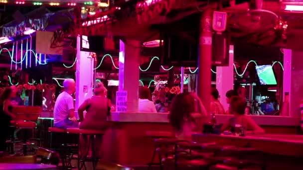 Red-light district in Pattaya, Thailand