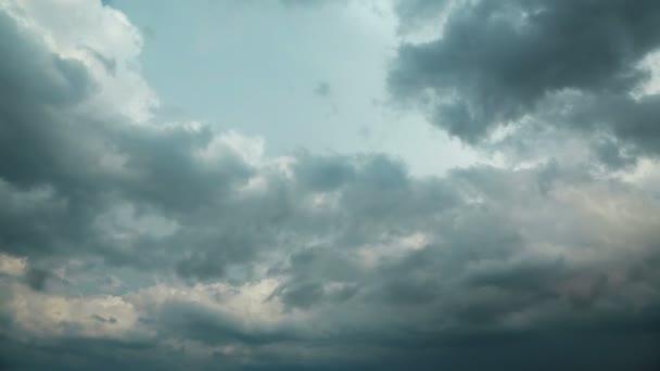 Timelapse bouřkové mraky