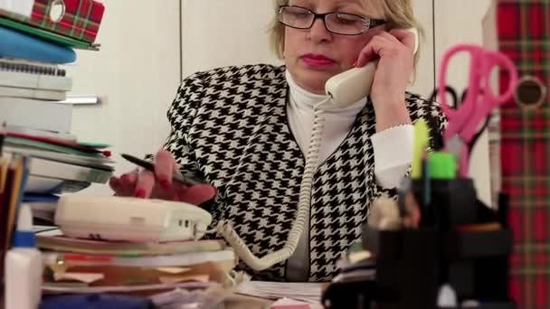 Senior woman chief accountant