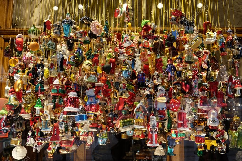 Christmas Decoration Shop In Graz, Austria U2014 Stock Photo