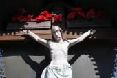 Fotografie Kreuzigung. Jesus am Kreuz