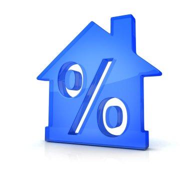 Blue home percent