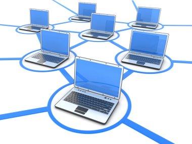 Network of laptops