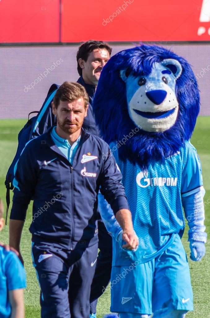 Zenit Saint Petersburg Head Coach Andre Villas Boas Stock Editorial Photo C Dvadrus 80386692