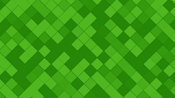 Absztrakt videó háttér számítógép teszi zöld összetételű, lassan változó tónusú terek