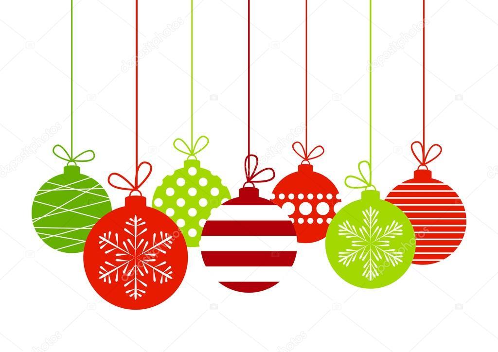 bolas de Navidad de color — Archivo Imágenes Vectoriales © Huhli13 ...
