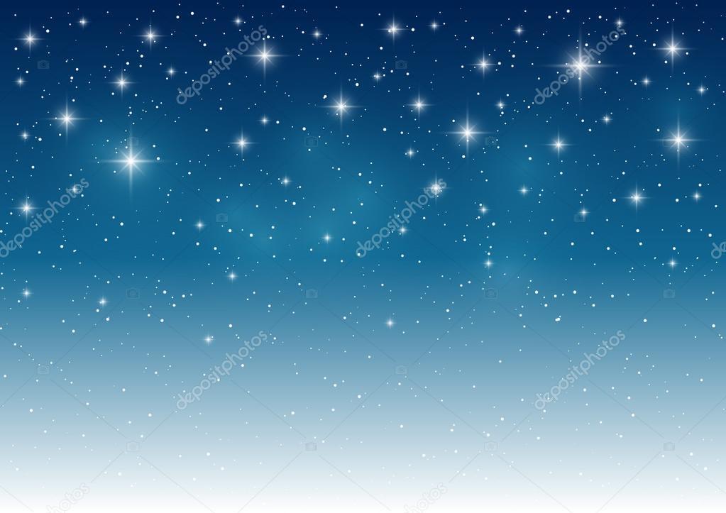 Sternenhimmel heller Hintergrund — Stockvektor © Huhli13 #90257072