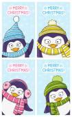 Fényképek a vicces pingvinek bannerek