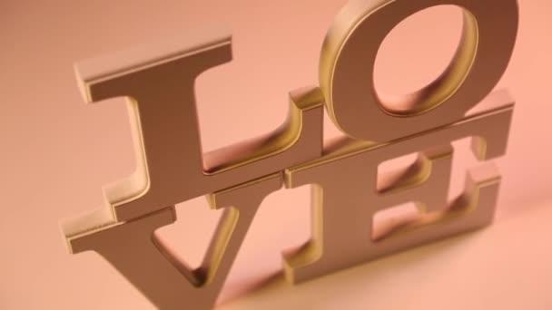 Znamení lásky jako Valentýna koncepce
