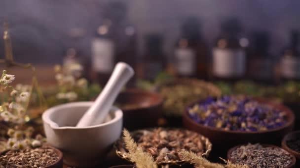Dried medical herbs
