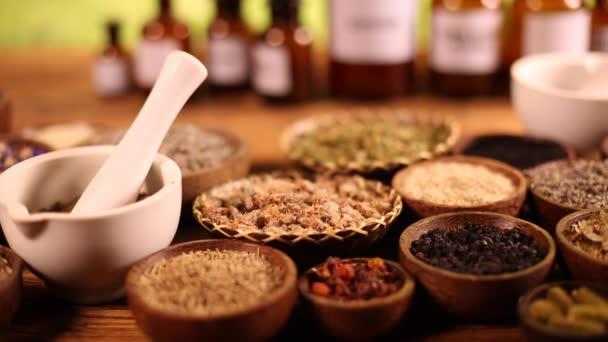 Alternativní medicína, sušené byliny