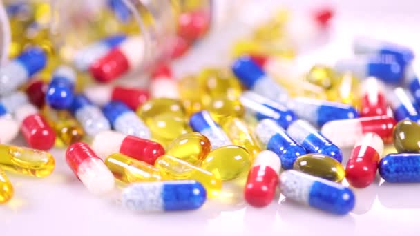 Medical Background with various pills