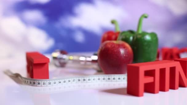Ernährung und Fitness, gesunde Lifestyle-Konzept