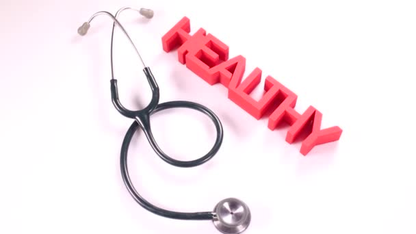 Healthy sign with stethoscope